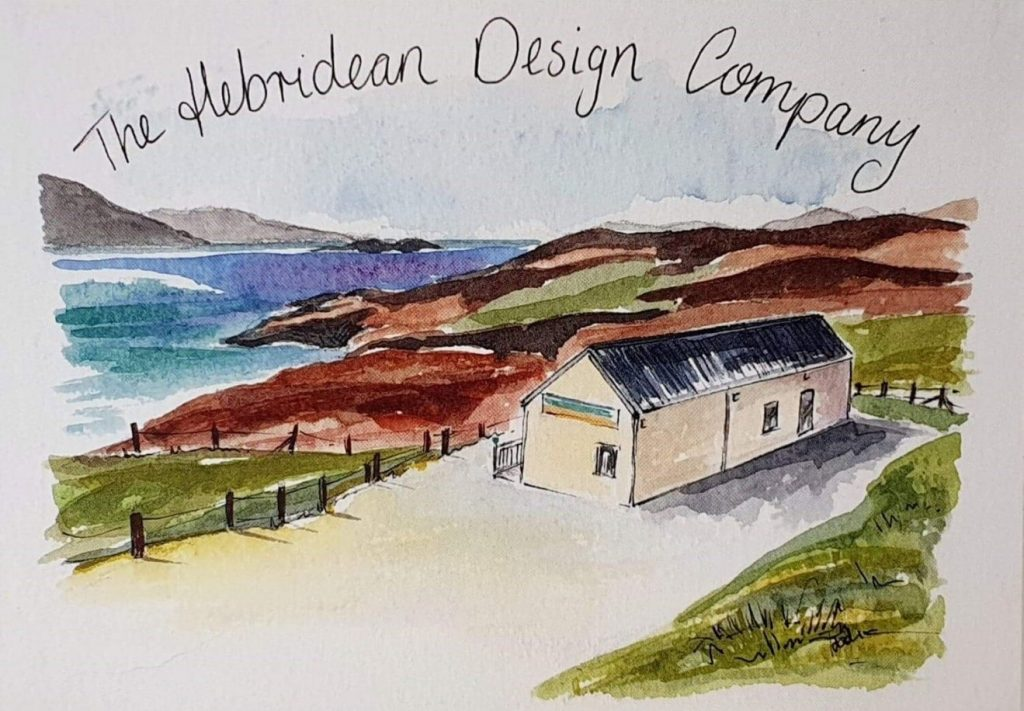 The Hebridean Design Company Postcard